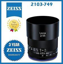Zeiss Loxia 35mm f/2 Biogon T* Lens for Sony E Mount Mfr # 2103-749