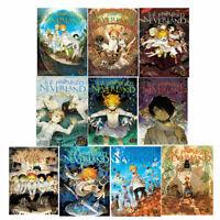 Kaiu Shirai Promised Neverland Series Volume 1-10 Collection 10 Books Set NEW