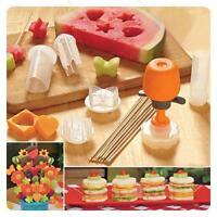 New Pop Chef Food #L Decorator 6 Shape Cake Fruit Maker Kitchen Tool Hot