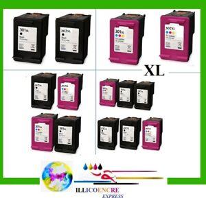 Compatible Ink Cartridges HP 301 XL 302 XL For Deskjet Envy Officejet