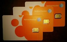 At&T Go Phone Nano 4G Lte sim. New Never Activated.
