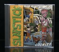 Slapstick Lookit! CD Asian Man 1996 Ska Punk OOP Ex-The Broadways Alkaline Trio