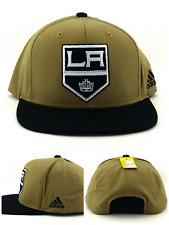 Los Angeles Kings New LA Adidas Khaki Beige Tan Black Era Snapback Hat Cap