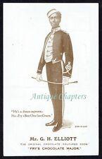 c.1914 G H Elliott Fry's Chocolate Major Advertising Postcard D380