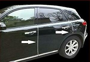 CHROME Door Edge Trim Protective Strips 4m Roll fits MG / ROVER (DG008)