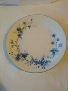 Noritake Stardust 2603 Set of 4 Small Plates Japan Blue & White