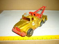MATCHBOX-LESNEY Super Kings Scammel Heavy Wreck Truck, Esso, goldfarben, K-2, 01
