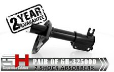 2 NEW FRONT OIL SHOCK ABSORBERS FOR DAEWOO LEGANZA 1997-2002/GH-325000P