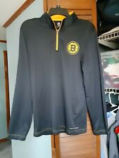 Women's Majestic Thermabase Boston Bruins Longsleeve Pullover Jacket Size small