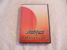 "Dokken ""Japan live '95"" 2003 Dvd Sanctuary Rec.  Printed in USA NEW"