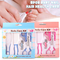 6Pcs/Set Baby Infant Kids Nail Hair Health Care Grooming Brush Comb   A*