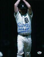 "Denny McLain Signed 8X10 Photo ""MVP 68"" Autograph Tigers Over Head Auto COA"