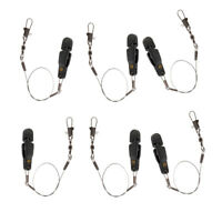6pcs Offshore Fishing Adjustable Snap Release Clip for Planer Board, Weights
