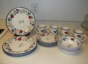 Princess House Orchard Medley16 Piece Dinnerware Set HTF