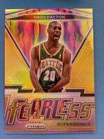 2020-21 Panini Prizm Basketball NBA Gary Payton FEARLESS Gold Holo 5/10