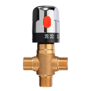 Thermostatic Mixing Valve Pipe Basin Thermostat Water Temperature Control Tool s