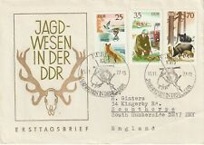 1977 East Germany FDC cover Hunting