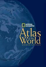 National Geographic Atlas of the World 8th Edition Large HB W/Slipcover Like New