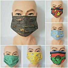 Face Masks - Disney/Marvel Comics/DC Comics - plus Filter