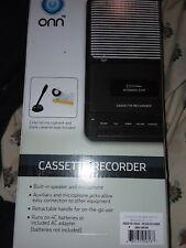 new onn cassette recorder