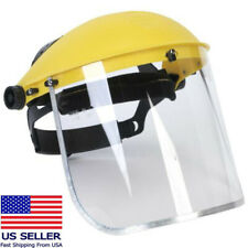 Safety Protective Clear Head-mounted Full Face Eye Shield Screen Grinding