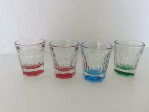 Vintage Set of 4 Shot Glasses