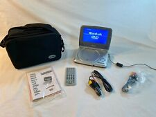 "Mintek 7"" Tft Monitor Portable Dvd Player Mdp-1760, Remote, Bag, Accessories"
