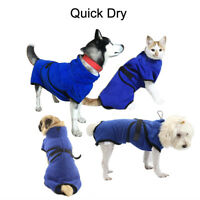 Pet Dog Cat Bath Towel Bathrobe Fast Dry Pet Quickly Absorbing Water Robe Clothe