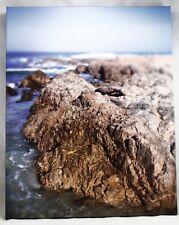 "Ocean Coast Tide pools Rocks Blue Sky Print/Litho 20"" x 16"""