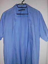 mative.com Hemd Oberhemd Herrenhemd blau Gr. 40, Kurzarm