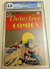 DETECTIVE COMICS #94 CGC 5.0 VG/FINE GOLDEN AGE BATMAN ROBIN 1944 War Time LQQK!