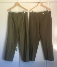 Vietnam War Australian Army Issue Officers Pants And Trousers Genuine
