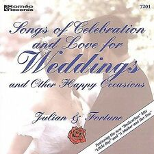 Songs of Celebration & Love for Weddings (CD) Julian &