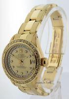 Rolex Datejust 18k Yellow Gold & Diamonds Automatic Ladies Vintage Watch 6917