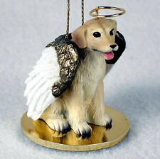 Yellow Lab Labrador Angel Dog Christmas Ornament Holiday Figurine Statue