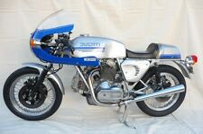 DUCATI Bevel Twins 900 SS Blue Silver Kit Completo Decalcomanie