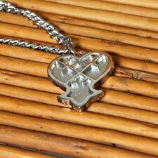 KINGDOM HEARTS 2 CIONDOLO COLLANA KEYBLADE HEARTLESS COSPLAY SORA DISNEY RIKU #1