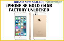 BRAND NEW! Apple iPhone SE - 64GB - Gold (Unlocked) Smartphone