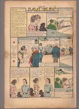 LISETTE 1939 .N°41.AU DOS JACKIE. TEXTES ET DESSINS DE GEORGES BOURDIN  BE