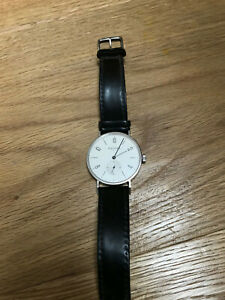 NOMOS Tangente Armbanduhr Edelstahl Handaufzug