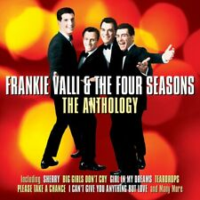 FRANKIE VALLI & THE FOUR SEASONS - THE ANTHOLOGY - 2 CDS - NEW!!
