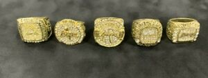 Kobe Bryant Los Angeles Lakers 5 Championship Replica Ring Set.