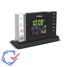 GreenBlue GB147 Wireless Weather Station Forecast DCF Temp Humidity Alarm Clock