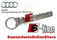 Portachiavi Audi  S-line Metallo A1 A3 A4 A5 A6 A7 A8 Q2 Q3 Q5 Q7