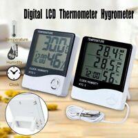 Digital LCD Indoor Room Thermometer Hygrometer Temperature Humidity Meter GA