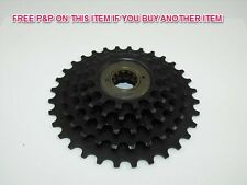 VINTAGE RACING BIKES/MTB NON INDEX 5 SPD FREEWHEEL (SPROCKET CASSETTE) 14-32 NOS