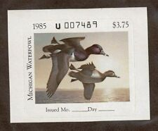 MI10  Michigan State Duck Stamp. Single. MNH. OG.