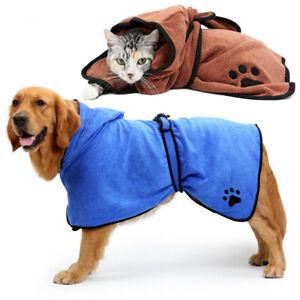 Hunde Bademantel Saugfähig Microfiber Handtuch Schnell Trocknen für Hunde Katzen