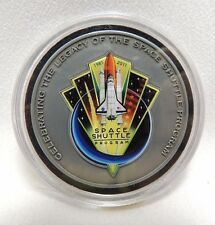 NASA Commemorative Coin Metal Flown Space Shuttle Mission Complete 1981-2011 S