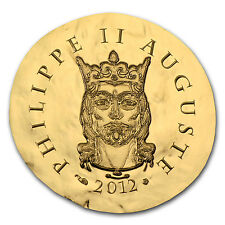 2012 1/4 oz Proof Gold Legendary Collection Philippe II Auguste - SKU #68868